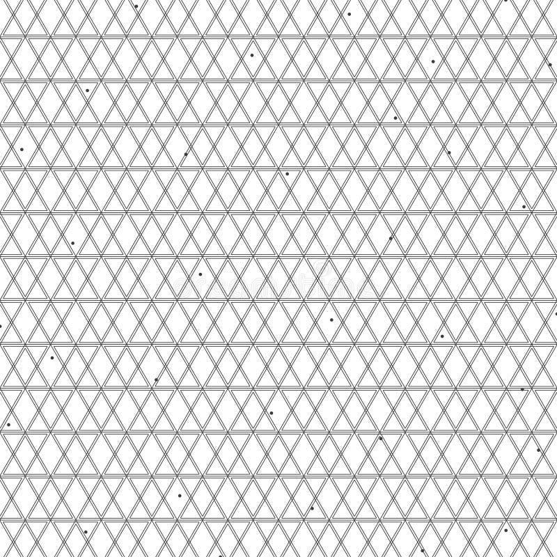 Αφηρημένη τετραγωνική σχεδίων διακόσμηση γραμμών σχεδίου γεωμετρική μαύρη γεωμετρική στο άσπρο υπόβαθρο r ελεύθερη απεικόνιση δικαιώματος