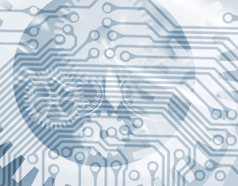 αφηρημένη τεχνολογία ελεύθερη απεικόνιση δικαιώματος