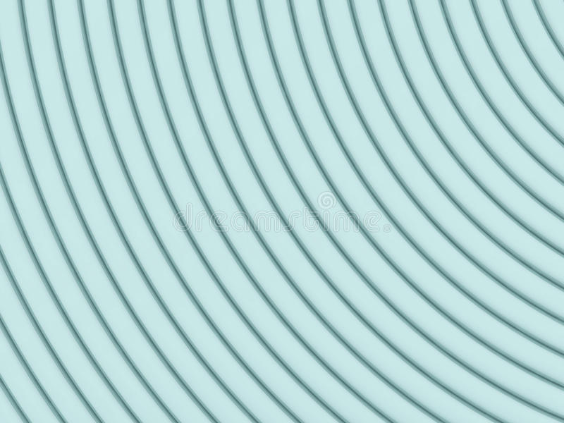 Αφηρημένη τρισδιάστατη απεικόνιση πέρα από το λευκό διανυσματική απεικόνιση