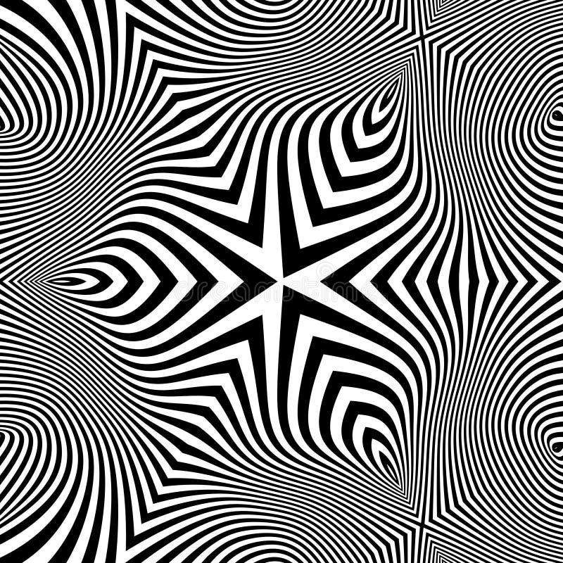 Αφηρημένη τρισδιάστατη γεωμετρική ανασκόπηση ελεύθερη απεικόνιση δικαιώματος