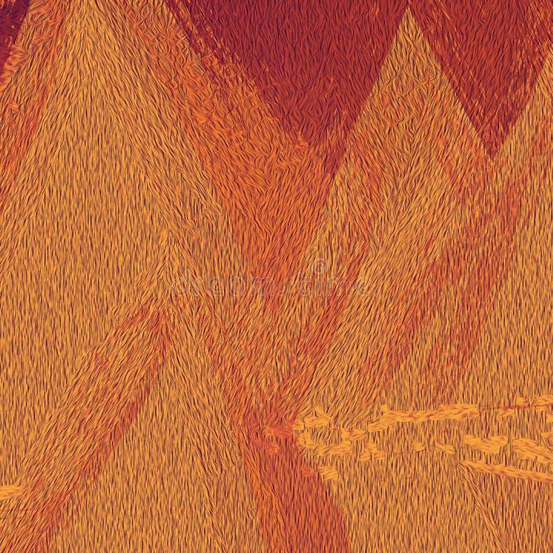 Αφηρημένη τυπωμένη ύλη στο υπόβαθρο Έργο τέχνης κτυπημάτων βουρτσών Grunge Έγγραφο ουράνιων τόξων Marbling τέχνη Τέχνες επιφάνεια διανυσματική απεικόνιση