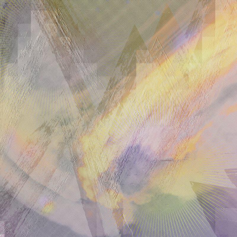 Αφηρημένη τυπωμένη ύλη στο υπόβαθρο Έργο τέχνης κτυπημάτων βουρτσών Grunge Έγγραφο ουράνιων τόξων Marbling τέχνη Τέχνες επιφάνεια απεικόνιση αποθεμάτων