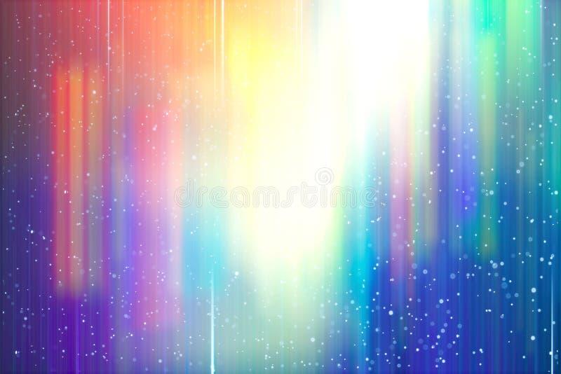 Αφηρημένη υποβάθρου θαμπάδων κλίση ουράνιων τόξων κινήσεων φωτεινή χρωματισμένη απεικόνιση αποθεμάτων