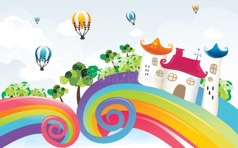 αφηρημένη φαντασία χρώματος ελεύθερη απεικόνιση δικαιώματος