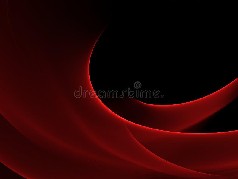 Αφηρημένη φωτεινή κόκκινη και μαύρη ανασκόπηση στοκ φωτογραφία με δικαίωμα ελεύθερης χρήσης