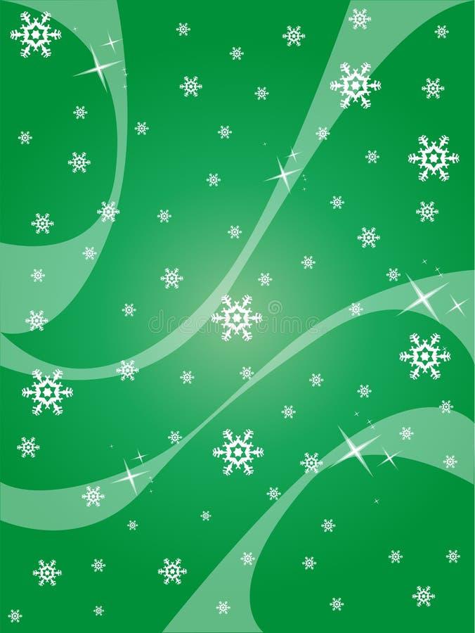 Αφηρημένη χειμερινή ανασκόπηση διανυσματική απεικόνιση
