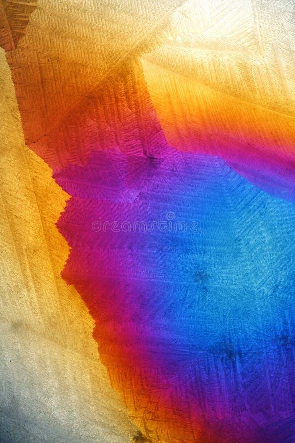 αφηρημένη χημική ουσία παγω στοκ φωτογραφίες