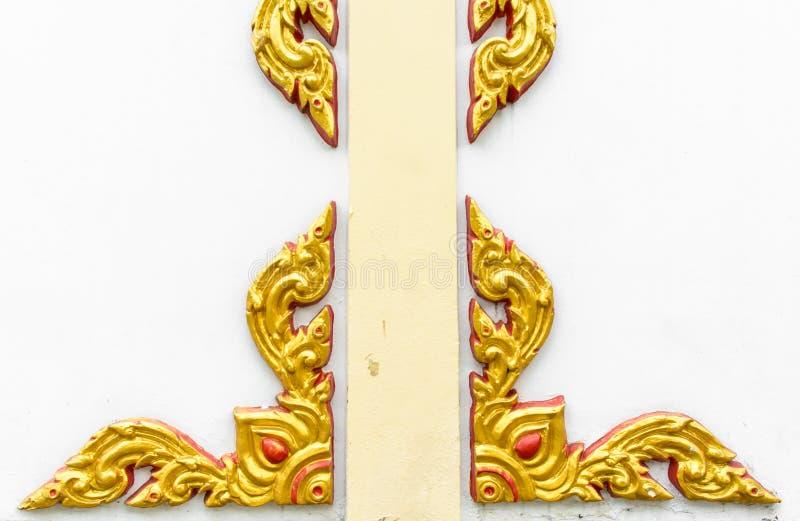 Αφηρημένη χρυσή τέχνη γλυπτών στοκ εικόνες