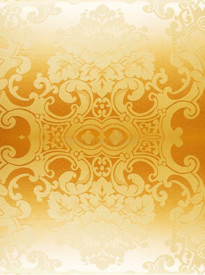 αφηρημένη χρυσή ταπετσαρία στοκ εικόνα