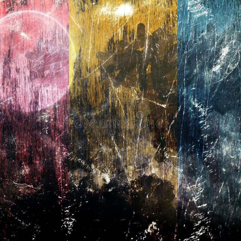 Αφηρημένη ψηφιακή τέχνη τυπωμένων υλών στοκ φωτογραφίες με δικαίωμα ελεύθερης χρήσης