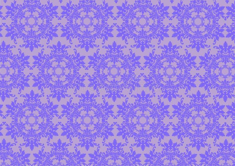 Αφηρημένη floral ανασκόπηση διανυσματική απεικόνιση