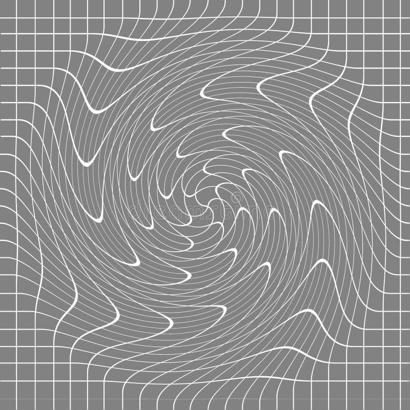 αφηρημένη fractal ανασκόπησης γκρίζα εικόνα ελεύθερη απεικόνιση δικαιώματος