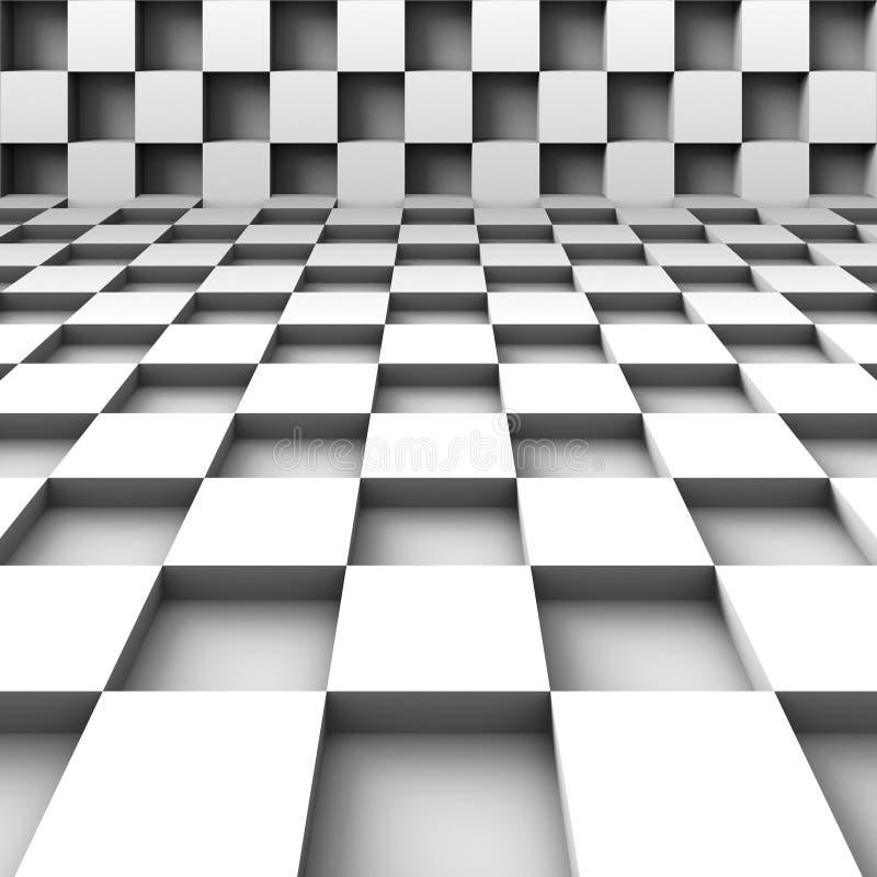 αφηρημένοι κύβοι ανασκόπη&sigma απεικόνιση αποθεμάτων