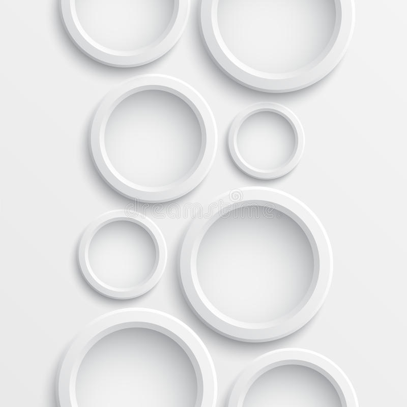 αφηρημένοι κύκλοι ανασκόπ&e διανυσματική απεικόνιση