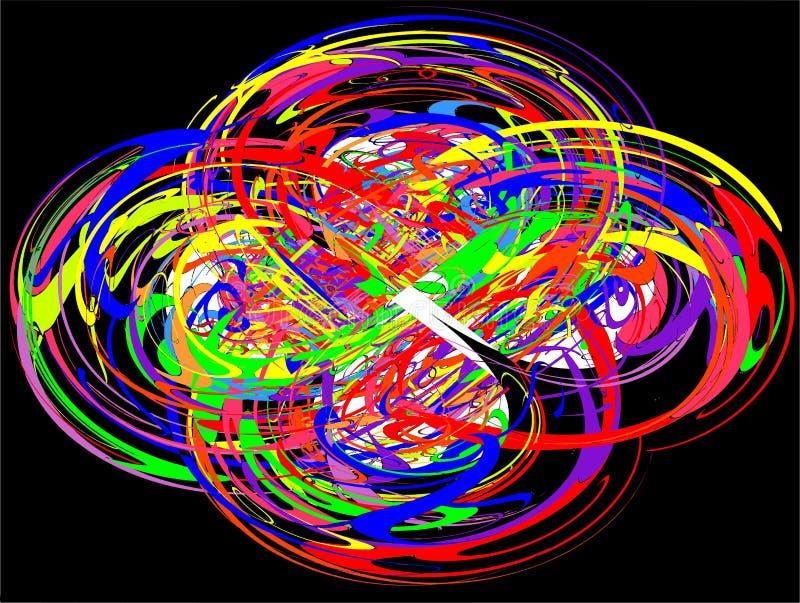 Αφηρημένοι κύκλοι ζωηρόχρωμοι στοκ φωτογραφίες με δικαίωμα ελεύθερης χρήσης