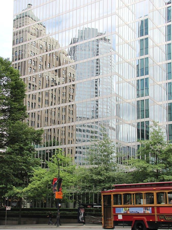 αφηρημένοι ουρανοξύστες στοκ εικόνα