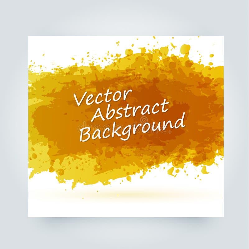Αφηρημένοι παφλασμοί χρωμάτων που τίθενται για τη χρήση σχεδίου Σύνολο προτύπων Splatter Διανυσματική απεικόνιση Grunge απεικόνιση αποθεμάτων