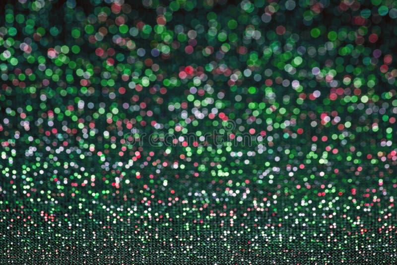 Αφηρημένοι ρομαντικοί ζωηρόχρωμοι κύκλοι bokeh για τα Χριστούγεννα backgroun στοκ φωτογραφία με δικαίωμα ελεύθερης χρήσης