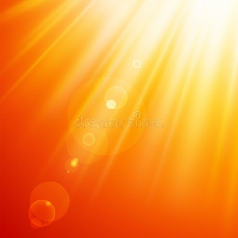 αφηρημένος ήλιος ακτίνων ελεύθερη απεικόνιση δικαιώματος