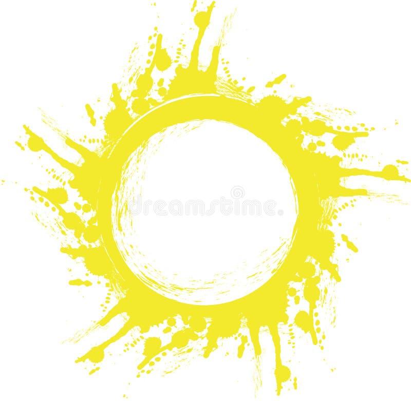 αφηρημένος ήλιος ελεύθερη απεικόνιση δικαιώματος
