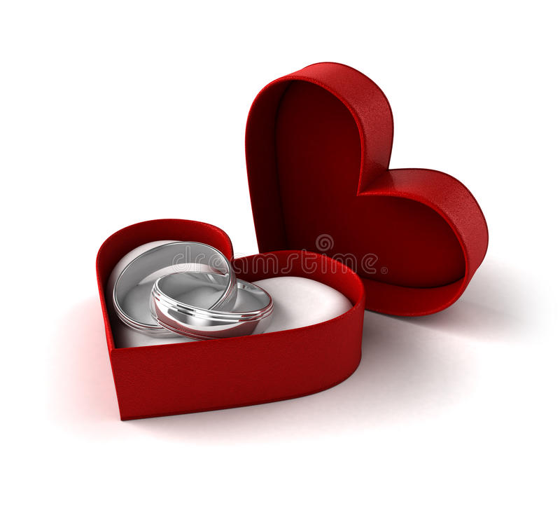 αφηρημένος γάμος δαχτυλ&iota διανυσματική απεικόνιση