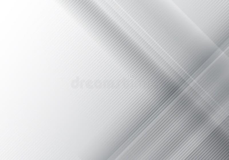 Αφηρημένος γκρίζος γεωμετρικός λάμπει και τα στοιχεία στρώματος με τη διαγώνια σύσταση γραμμών ελεύθερη απεικόνιση δικαιώματος