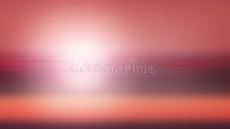 Αφηρημένος, γραφικός ουρανός κλίσης απεικόνισης υποβάθρου ηλιοβασιλέματος ελεύθερη απεικόνιση δικαιώματος