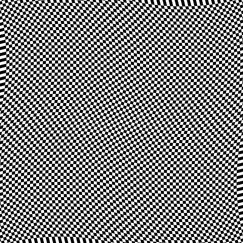 Αφηρημένος διαστρεβλωμένος κύμα πίνακας ελεγκτών όπως την άνευ ραφής επιφάνεια απεικόνιση αποθεμάτων
