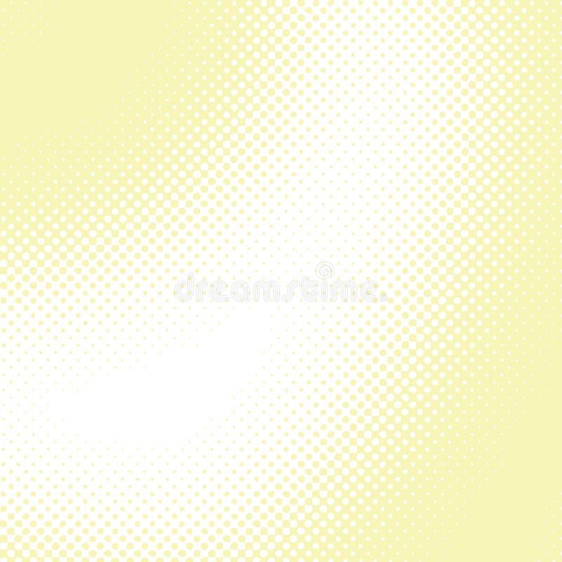 αφηρημένος ημίτονος διανυσματικός κίτρινος ανασκόπησης απεικόνιση αποθεμάτων