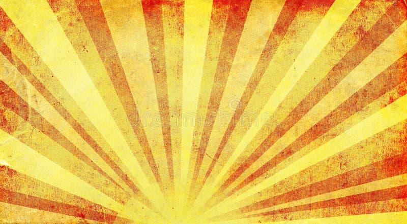αφηρημένος θερινός ήλιος άνοιξης ακτίνων ανασκοπήσεων ελεύθερη απεικόνιση δικαιώματος