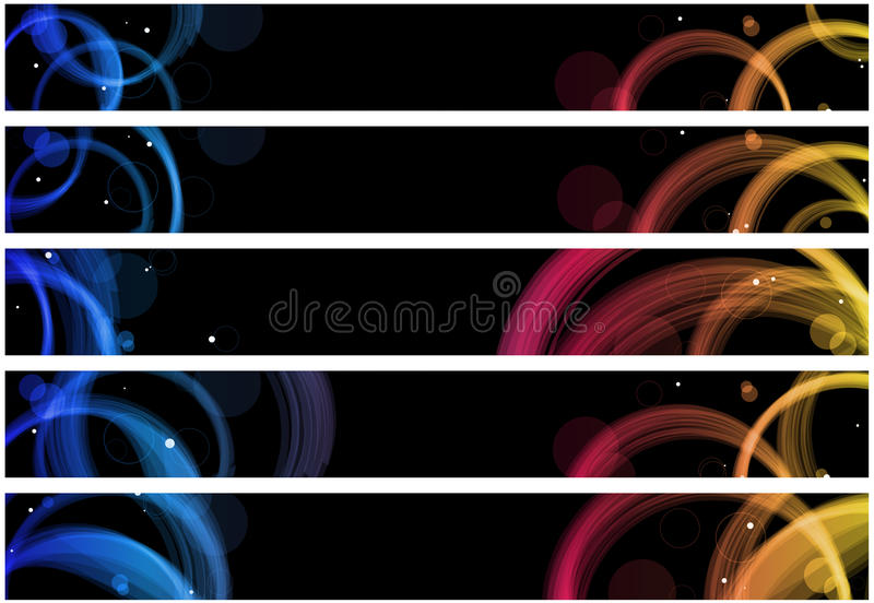 αφηρημένος Ιστός κύκλων εμ διανυσματική απεικόνιση