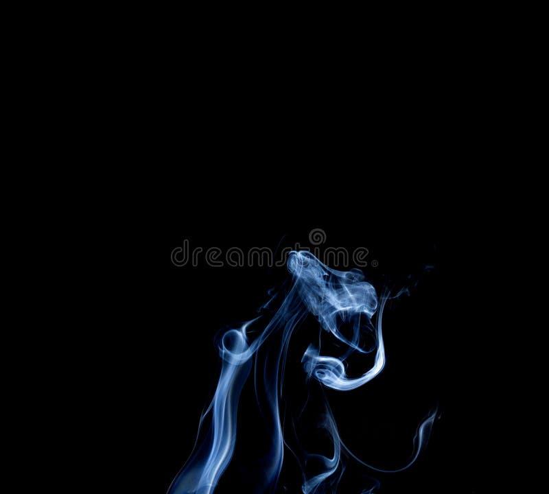 Αφηρημένος καπνός του κολλητικού Μαύρου κινέζικων ειδώλων στοκ εικόνες με δικαίωμα ελεύθερης χρήσης