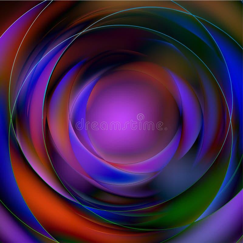 αφηρημένος κυκλικός ζωη&rho απεικόνιση αποθεμάτων