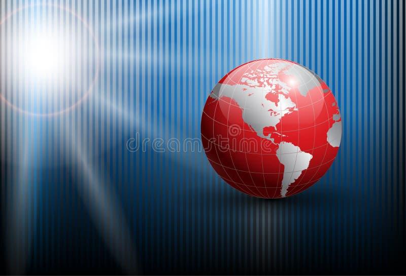 αφηρημένος κόσμος σφαιρών &al διανυσματική απεικόνιση