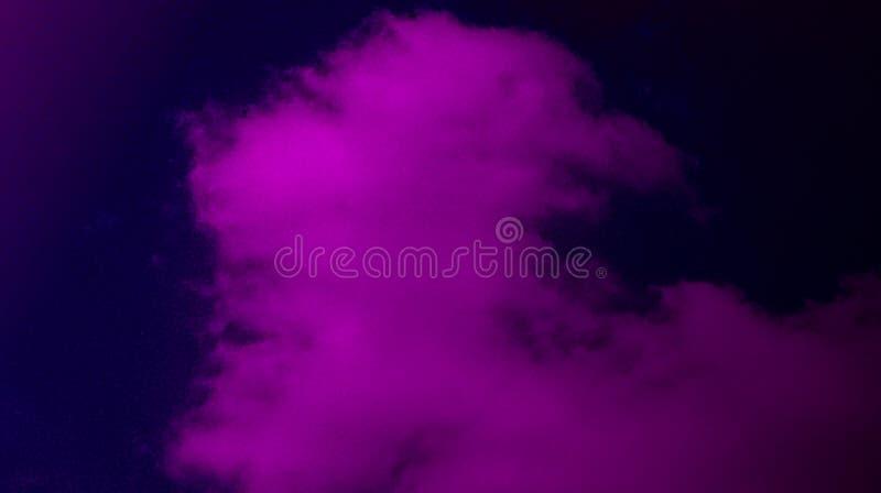 Αφηρημένος μαύρος βαθύς - πορφυρό χρώματος μιγμάτων πολυ χρωμάτων υπόβαθρο ομίχλης αποτελεσμάτων καπνώές στοκ φωτογραφία με δικαίωμα ελεύθερης χρήσης