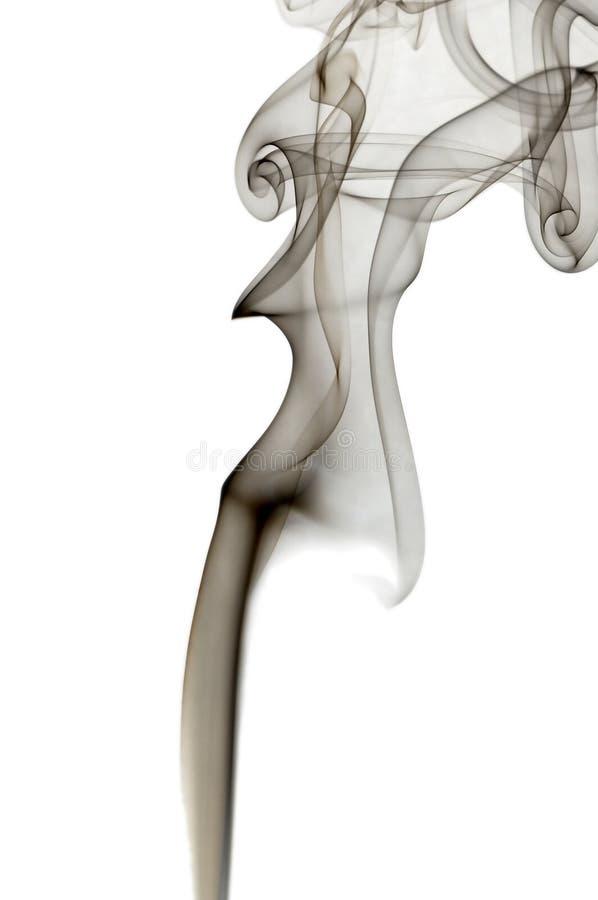 αφηρημένος μαύρος καπνός στοκ φωτογραφία με δικαίωμα ελεύθερης χρήσης