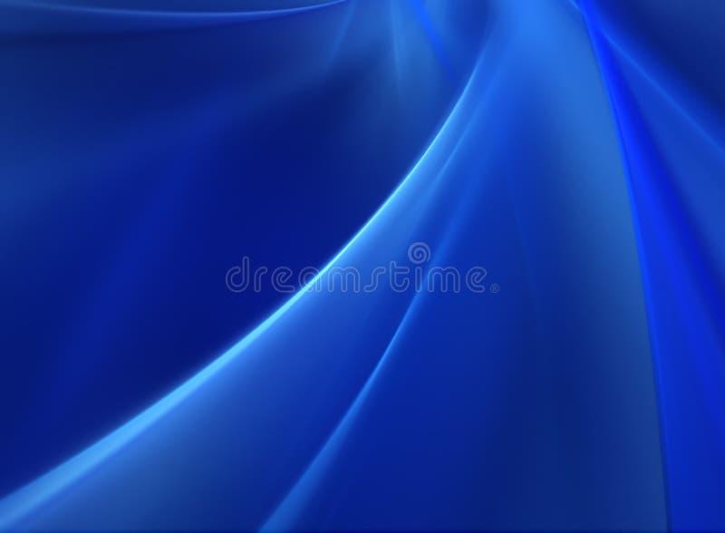 αφηρημένος μπλε βαθύς ανα&s στοκ εικόνα