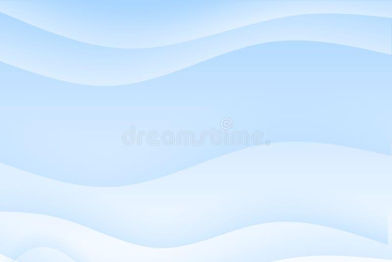 αφηρημένος μπλε ελαφρύς &kappa διανυσματική απεικόνιση