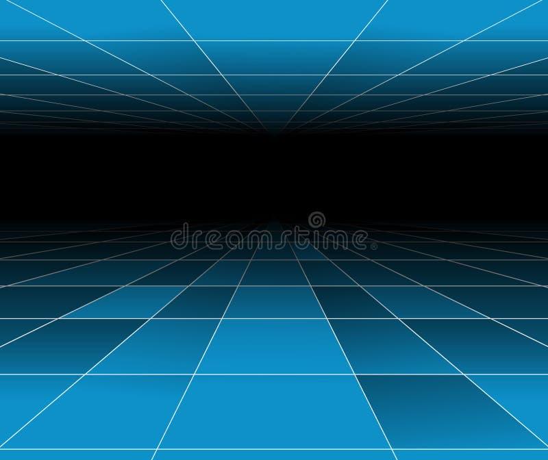 αφηρημένος μπλε φουτου&rho διανυσματική απεικόνιση