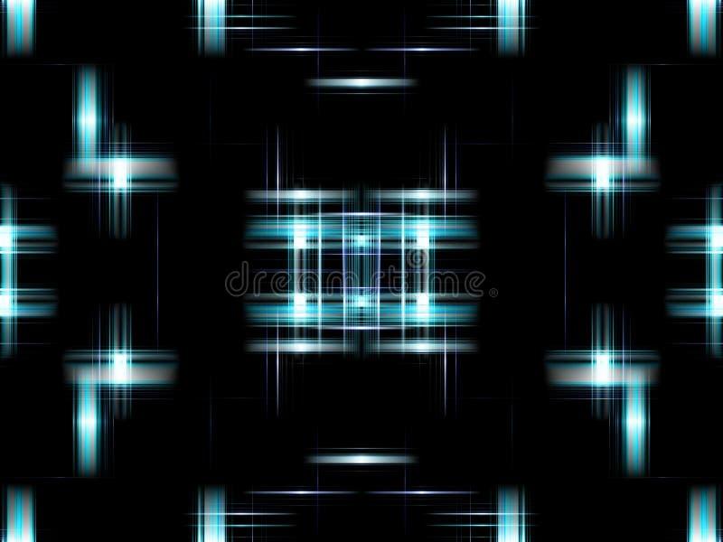 αφηρημένος μπλε ψηφιακός απεικόνιση αποθεμάτων