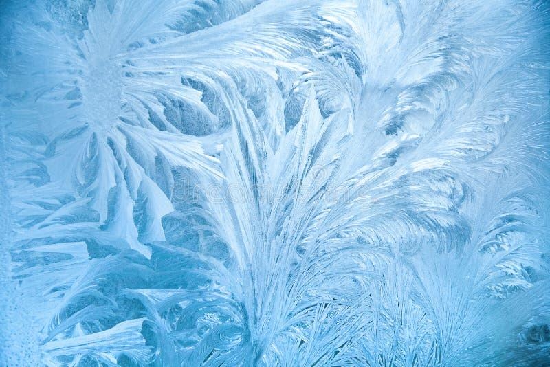αφηρημένος παγετός στοκ φωτογραφίες