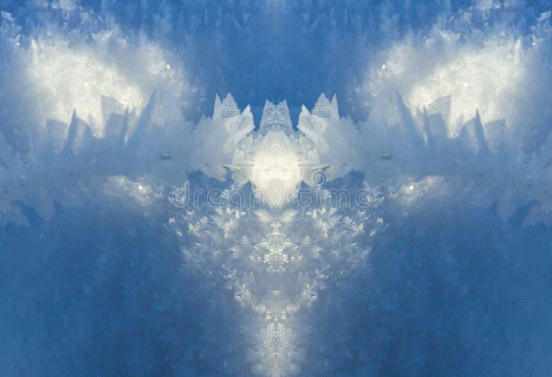 αφηρημένος παγετός στοκ φωτογραφία με δικαίωμα ελεύθερης χρήσης