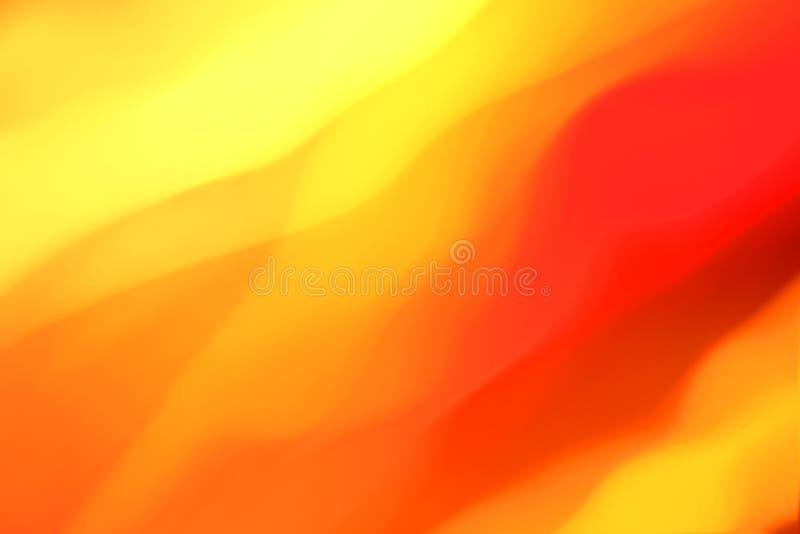 αφηρημένος πορτοκαλής κίτρινος διανυσματική απεικόνιση