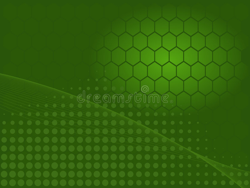 αφηρημένος πράσινος βιομηχανικός στοκ εικόνες με δικαίωμα ελεύθερης χρήσης