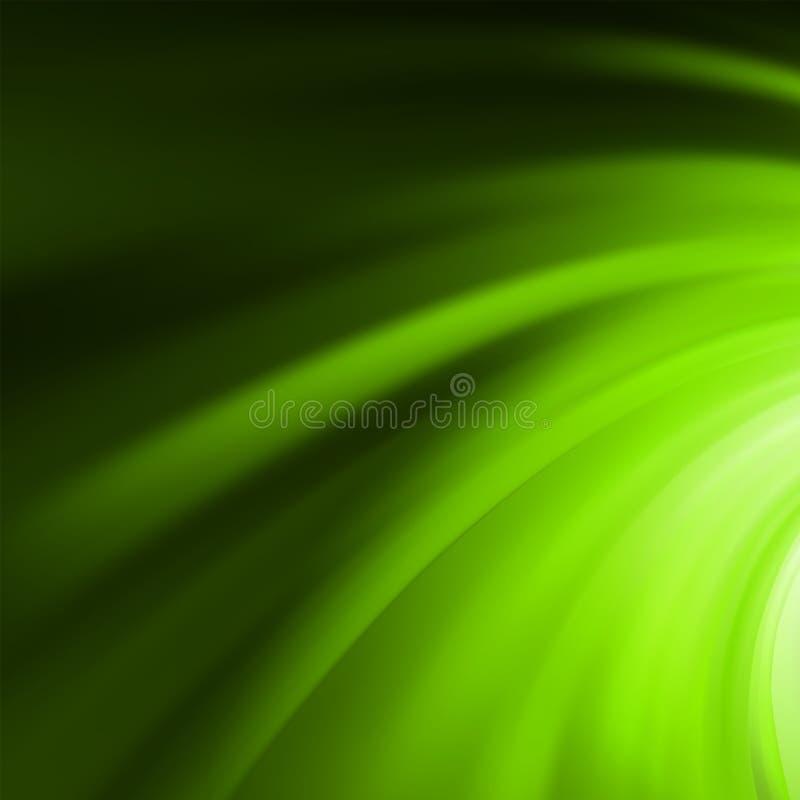 Αφηρημένος πράσινος στρόβιλος. EPS 8 διανυσματική απεικόνιση