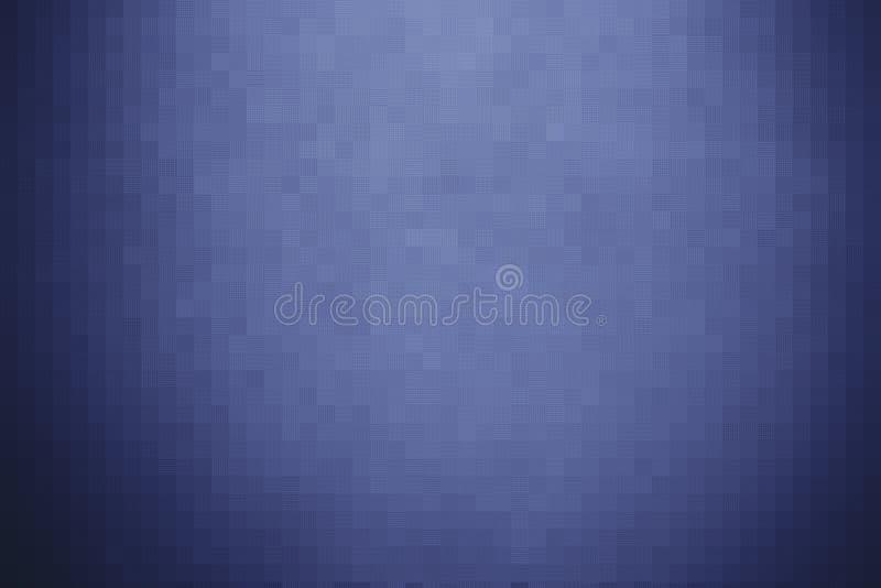 Αφηρημένος σκούρο μπλε φραγμός μωσαϊκών στοκ εικόνες