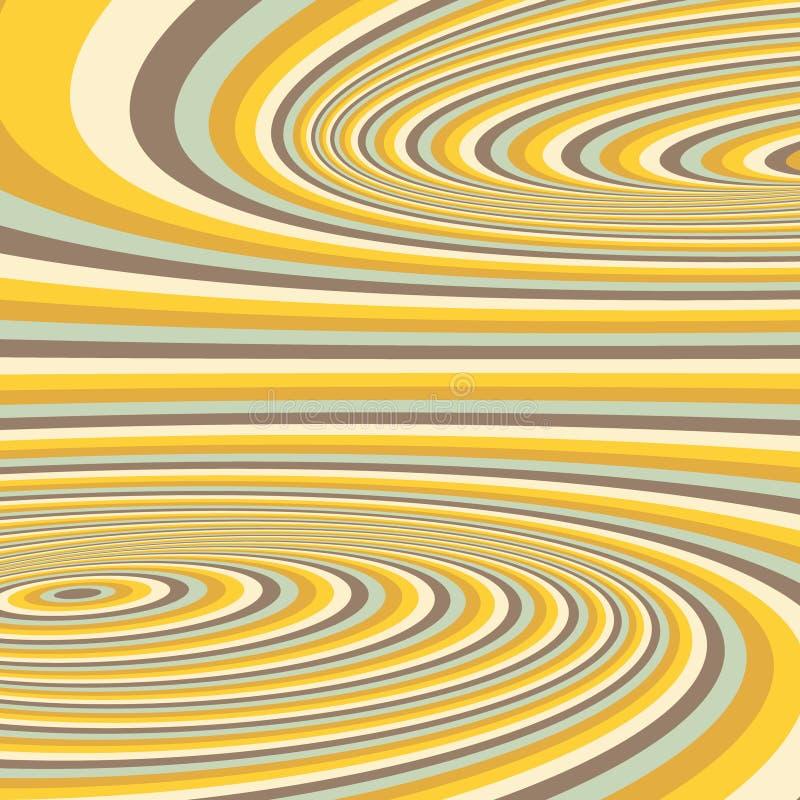 αφηρημένος στρόβιλος ανασκόπησης Σχέδιο με οπτικό απεικόνιση αποθεμάτων