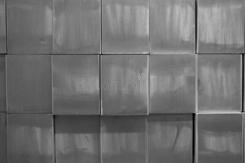 Αφηρημένος τετραγωνικός φραγμός μετάλλων στοκ φωτογραφίες με δικαίωμα ελεύθερης χρήσης