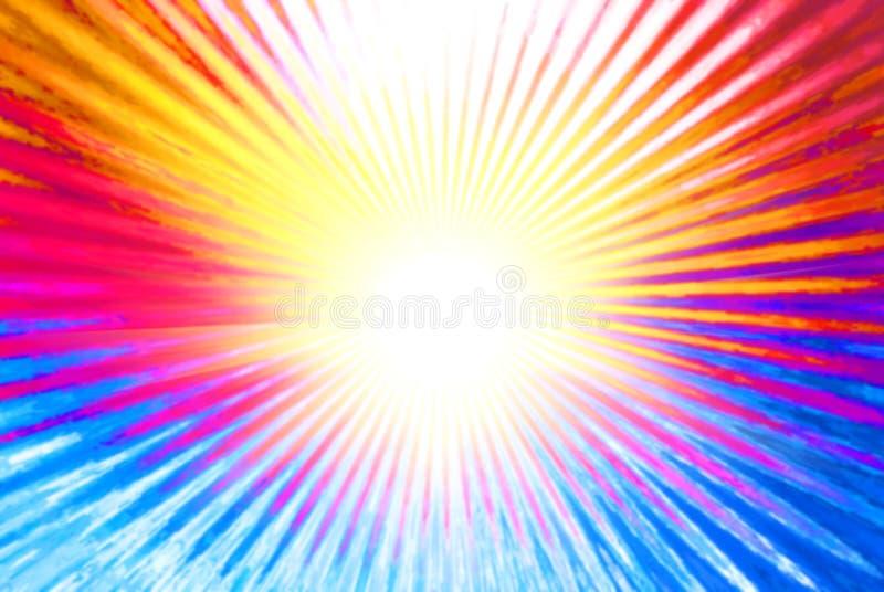 αφηρημένος φωτεινός πολύχ&rh διανυσματική απεικόνιση