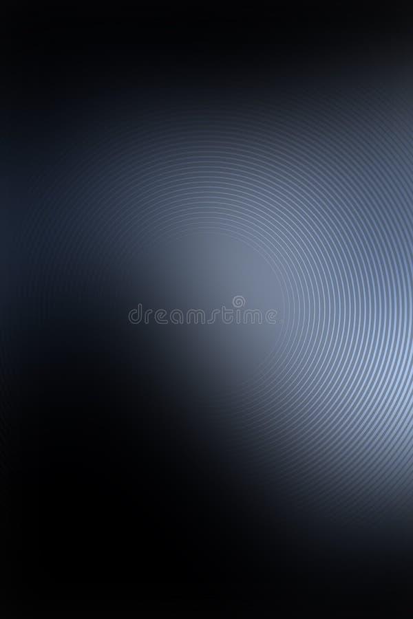Αφηρημένος χάλυβας μετάλλων υποβάθρου σκοτεινός ακτινωτός που βουρτσίζεται απεικόνιση αποθεμάτων